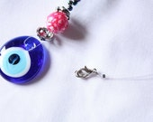 Blue Beads Ceramic Necklace Clearance SALE