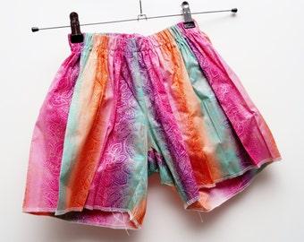 Colourful Printed holiday shorts