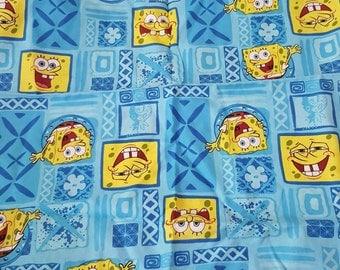 SpongeBob square pants fabric