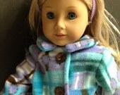 Doll Coat for My Generation or American Doll Handmade