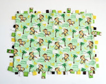 Monkey with Bananas: Tag blanket