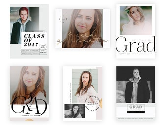 All about type Graduation Cards