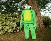 Tangled Pascal costume - green chameleon costume- Custom Made to Order - sizes infant 12 months 18 months 24 months 3t 4t 5 6