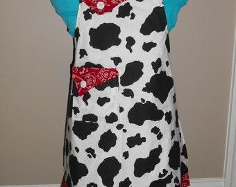 Cow Girl's Apron