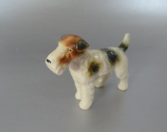 Vintage Ceramic Dog Figurine - Terrier