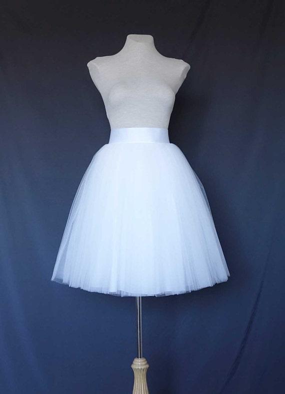 white tulle skirt tea length tulle skirt tulle