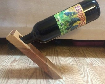 Gravity Wine Bottle Holder