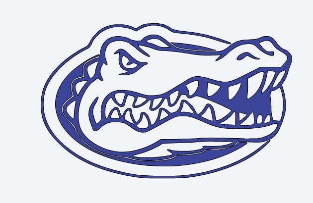 Florida Gator Stickers : Florida gators yeti vinyl decal
