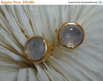 SALE Valentianes Day Moonstone silver earrings ,Post gold earrings ,Classic earrings ,Casual earrings ,Medium earrings ,Every day earrings