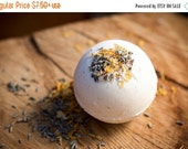 Lavender & Lemon Essential Oil Bath Bomb - Natural, Dye Free Free Shipping, Gifts for Her