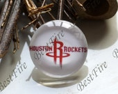 NBA Team Houston Rockets 12-30mm Round Photo Glass Cabochons , jewelry Cabochons finding beads,Accessories Photo Glass Cabochons