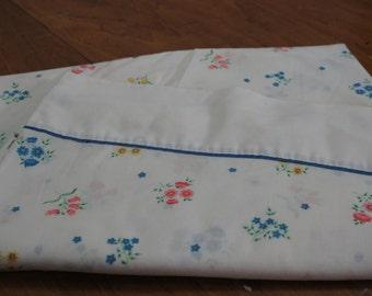 Vintage Bedding Re-Mix Full/Double Flat Sheet