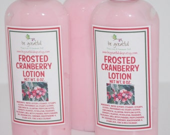 Frosted Cranberry Hand and Body lotion