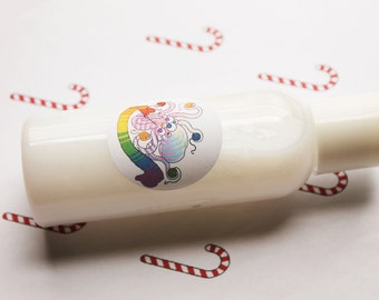 Candy Cane Lotion - Handmade Scented Vegan Lotion - Body Lotion - Face Lotion - Natural Lotion - Lotion Bottles - Hand Lotion