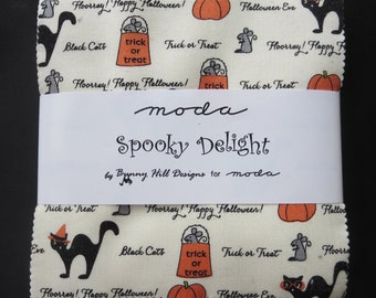 Moda - Spooky Delights Charm Pack - Only 8 Remaining and Unable to Get More!