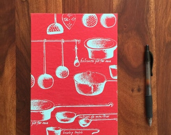 Handmade Cookbook Journal