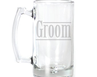 Large Beer Mug - 25 oz. - 2128 Groom