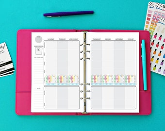 Printable Planner for 1,800-2,099 calories |  Fitness Journal by 505 Design, Inc