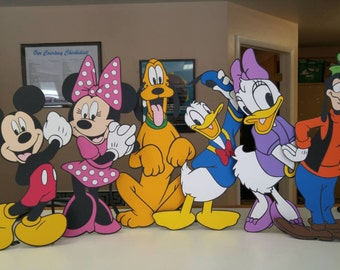 Custom Order for 2002josh - Mickey Mouse and Friends Stand Ups