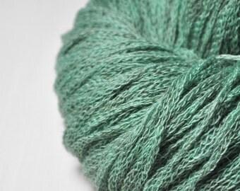 Stormy green sea - Merino/Alpaca/Yak DK Yarn