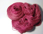Tussah Silk LACE in Summer Roses - One of a Kind