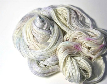 Silk Merino in White Opal - One of a Kind