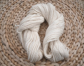 Chunky 100% baby alpaca 100 grams , alpaca knitting yarn , scarf , cowl yarn, cream alpaca , undyed yarn  , luxury yarns