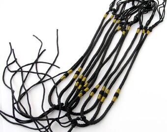 8Pieces Silk Necklace Cord  ja555