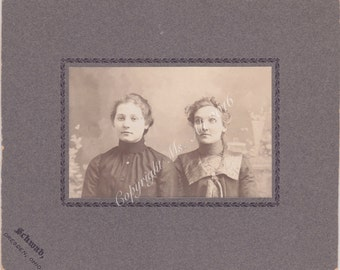 Proper Ladies - Cabinet Card photo