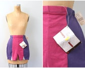 CLEARANCE SALE // vintage 80s ladies high waisted spandex shorts - hot pants / Valley Girl - 1980s workout gear / aerobic shorts - festival