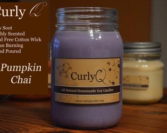 Pumpkin Chai 16oz Soy Candle