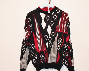 Vintage Sweater Diamonds for Hipster