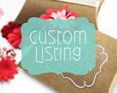 Custom Label Listing for Jacki