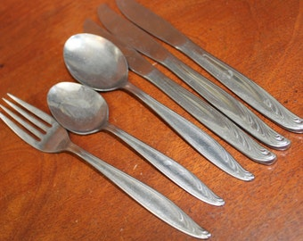 Stainless Flatware by International Wm. Rogers Vintage BIN 56