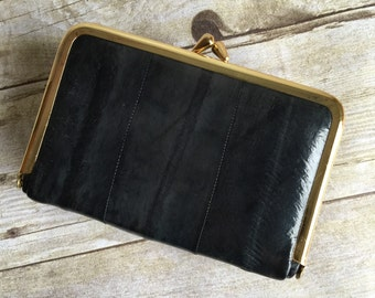 Vintage Leather Coin Purse - Tiny Wallet