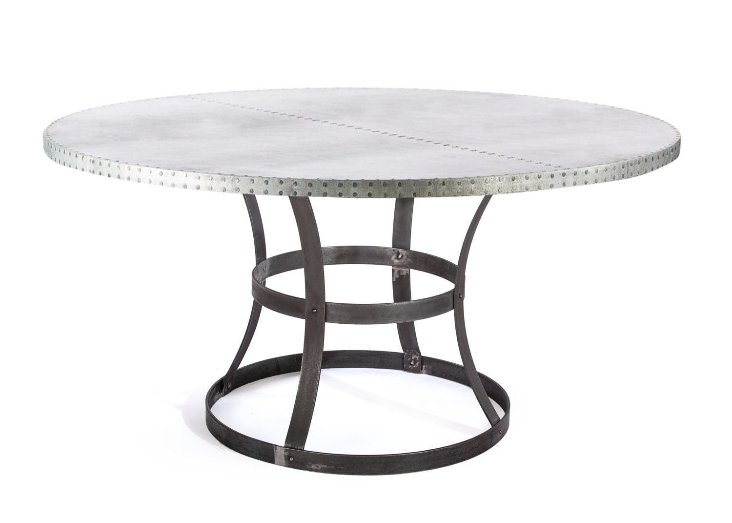 Zinc Table Zinc Dining Table The Madera Round Zinc Top : ilfullxfull8856963016b87 from www.etsy.com size 1500 x 1071 jpeg 97kB