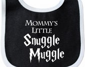 Mommy's Little Snuggle Muggle Harry Potter Baby Bib