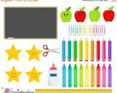 40% OFF SALE School Clip Art - Digital Clip Art - Instant Download - Commercial Use