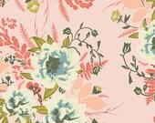 Pink Kimono Robe. Kimono. Bridal Robes. Pink Bridesmaid Robes. Wild Pink Posies. Knee or Mid Calf Length. Small thru Plus Size 2XL.