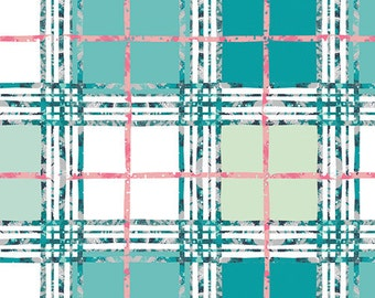 Lavish Trellis Plaid Fresh by Katarina Roccella for Art Gallery Fabrics