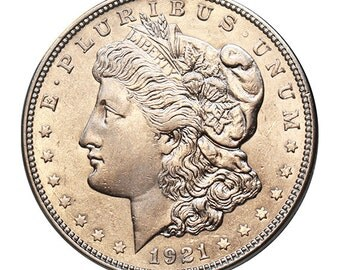 1921-D U.S. Morgan Silver Dollar