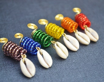Dreadlock Jewelry, Loc Jewelry, Rainbow Dreadlock Jewelry, Dread Bead, Jewelry for Dreadlocks