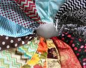 YOUR CHOICE Plastic Bag Holder - Rag Bag Holder - Laundry Organizer - Rainbow of Colors Plastic Bag Kitchen Organizer - Ready to Ship