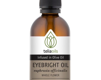 Eyebright Infused (Macerated) Oil, Hydrates the delicate skin around the eye area 50ml / 1.7 fl. oz