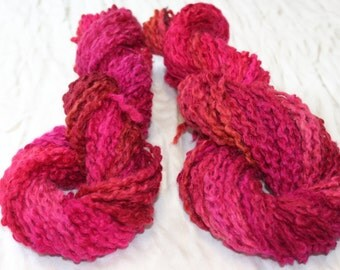 Chunky Moves thick thin wool yarn  Knit and or Felt