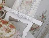 shabby chic barbola picture tripod white romantic bedroom decor
