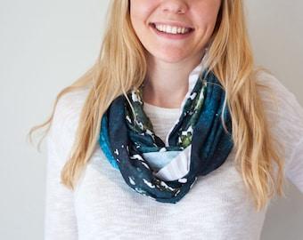 Kananaskis Trees - Art scarf