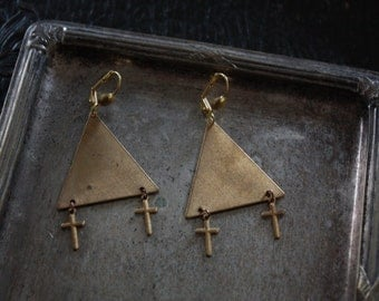 Crosses Crosses - Earrings