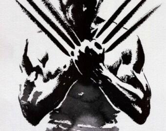 Wolverine - Cross stitch pattern pdf format