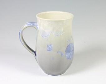 Silver Crystalline Glazed Mug